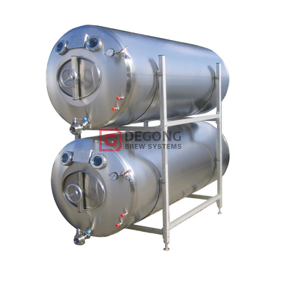 10HL Lageringstanker Horisontal Brite Beer Tank Custom Rustfritt stål tanks for bryggerier over hele USA